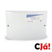 A Central de Cerca Elétrica GCP 10000, Com certificação de Segurança INMETRO, Carregador-Flutuador de bateria incorporado, Saida para Alarme