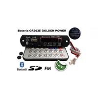 Placa Leitor De Usb Mp3 / Fm / Bluetooth / Controle Remoto