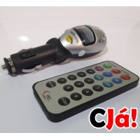 MP3 Player com transmissor via FM/PENDRIVE