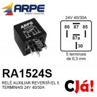 RA1524S RELE AUXILIAR 24V 40/30