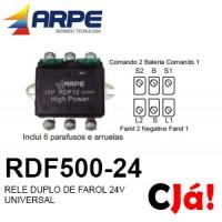 RDF500-24 RELE DUPLO DE FAROL 24V UNIVERSAL