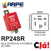 RP24SR RELE DE PISCA ALTA POTÊNCIA 24V 800W