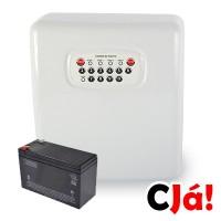 SS1200D Central Alarme com 4 setores com discadora COM BATERIA