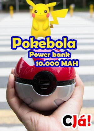 Carregador Pokebola 10.000Mah