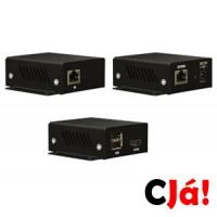 XBOX2 (Extensor HDMI + USB + Energia através de um único cabo UTP)